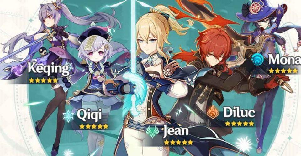Cara Mendapatkan Karakter 5 Star Dan Juga Senjata Di Genshin Impact