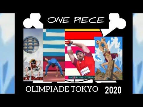 Atlet Asal Yunani Dan US Menirukan Pose Ikonik One Piece